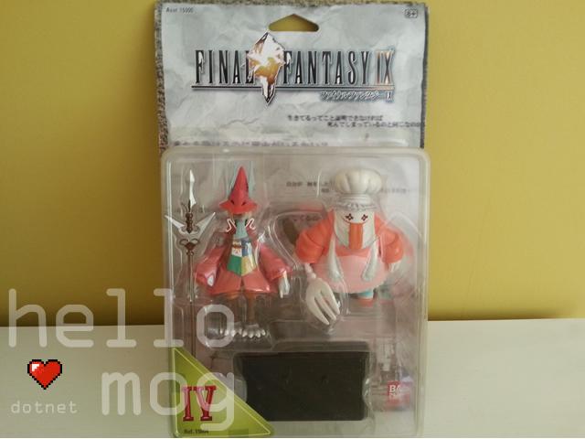 Final Fantasy IX Freya and Quina Bandai Figures