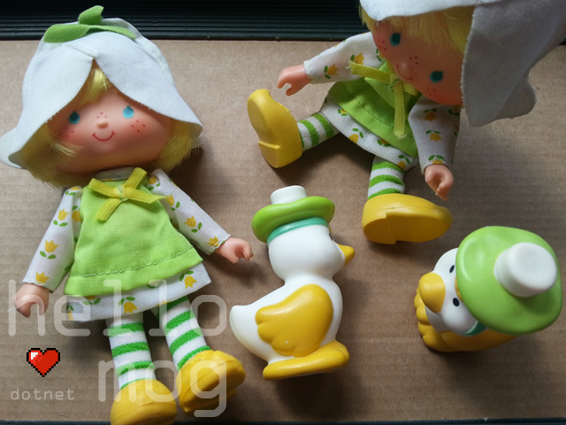 Strawberry Shortcake Mint Tulip Second Issue Doll