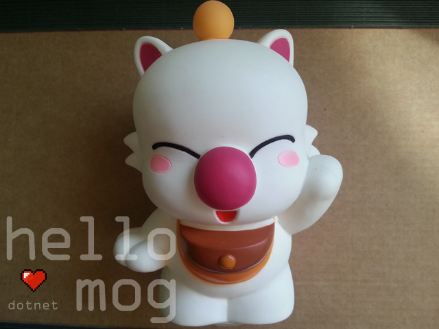 Chocobo's Dungeon Moogle Mog Large Coin Bank