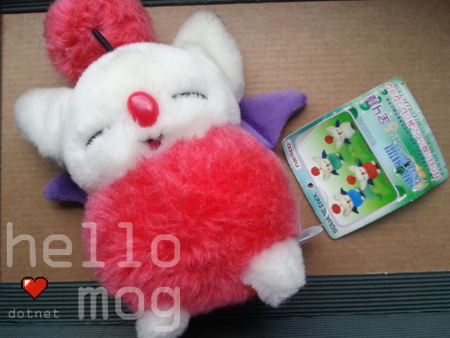 Final Fantasy Crystal Chronicles Red Moogle Plush