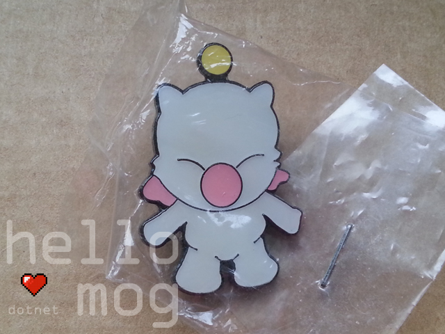 Final Fantasy Moogle Pin