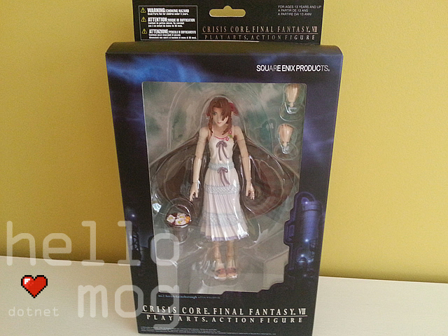 Final Fantasy VII Crisis Core Aerith Gainsborough No. 2 Play Arts Action Figure