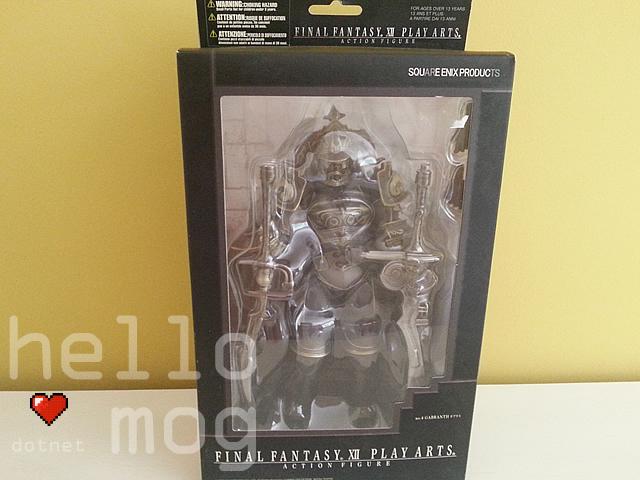Final Fantasy XII Gabranth No. 4 Play Arts Action Figure
