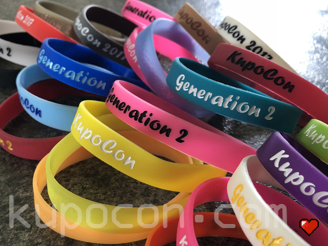 KupoCon Event Wristbands