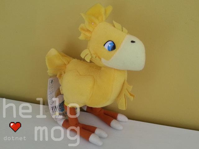 Final Fantasy VII Yellow Chocobo Plush
